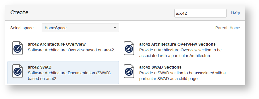 Projectdoc add on for arc42 projectdoc toolbox wiki if you want to add the arc42 template to an existing space use the page blueprint arc42 swad malvernweather Images