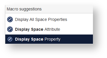 Using Space Properties