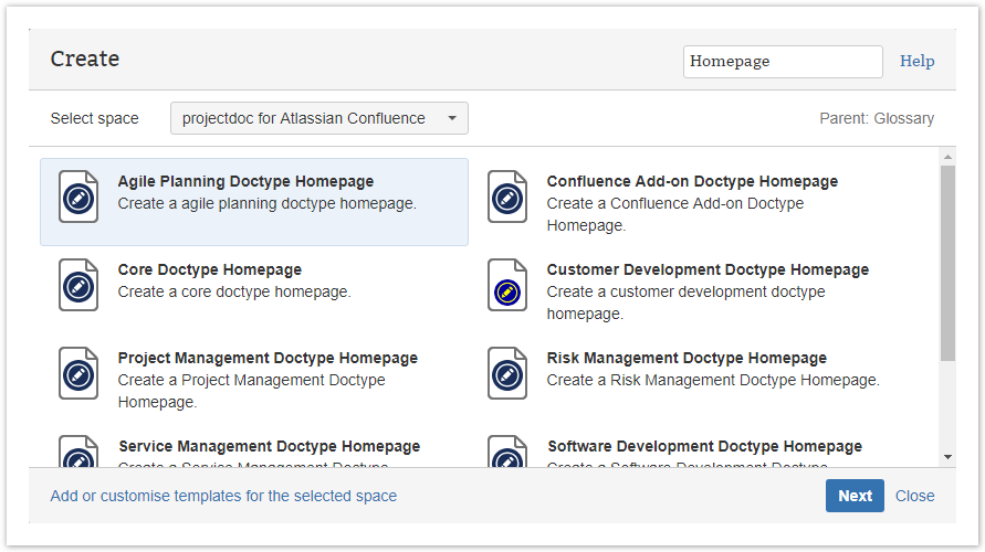 Index space projectdoc for atlassian confluence wiki related terms malvernweather Gallery